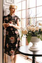 Load image into Gallery viewer, Winnie Oriental Velvet Dress