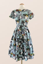 Load image into Gallery viewer, Laura Tiki Print Dress
