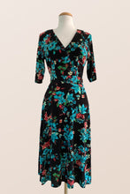 Load image into Gallery viewer, Nadia Floral Jersey Dress