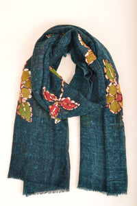 Zoda Dark Green Scarf