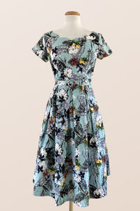 Laura Tiki Print Dress