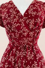 Load image into Gallery viewer, Fiorella Red & White Berries Dress