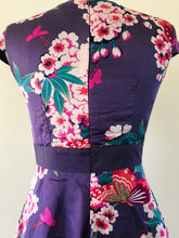Load image into Gallery viewer, Purple Kimono Dress