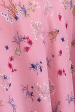 Load image into Gallery viewer, Fiorella Corset Pink Floral Dress