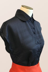 Minki Black Dots Top
