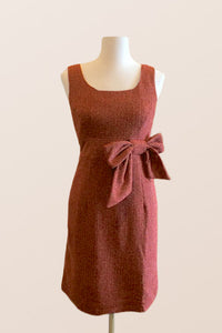 Nostalgia Wool Red Dress