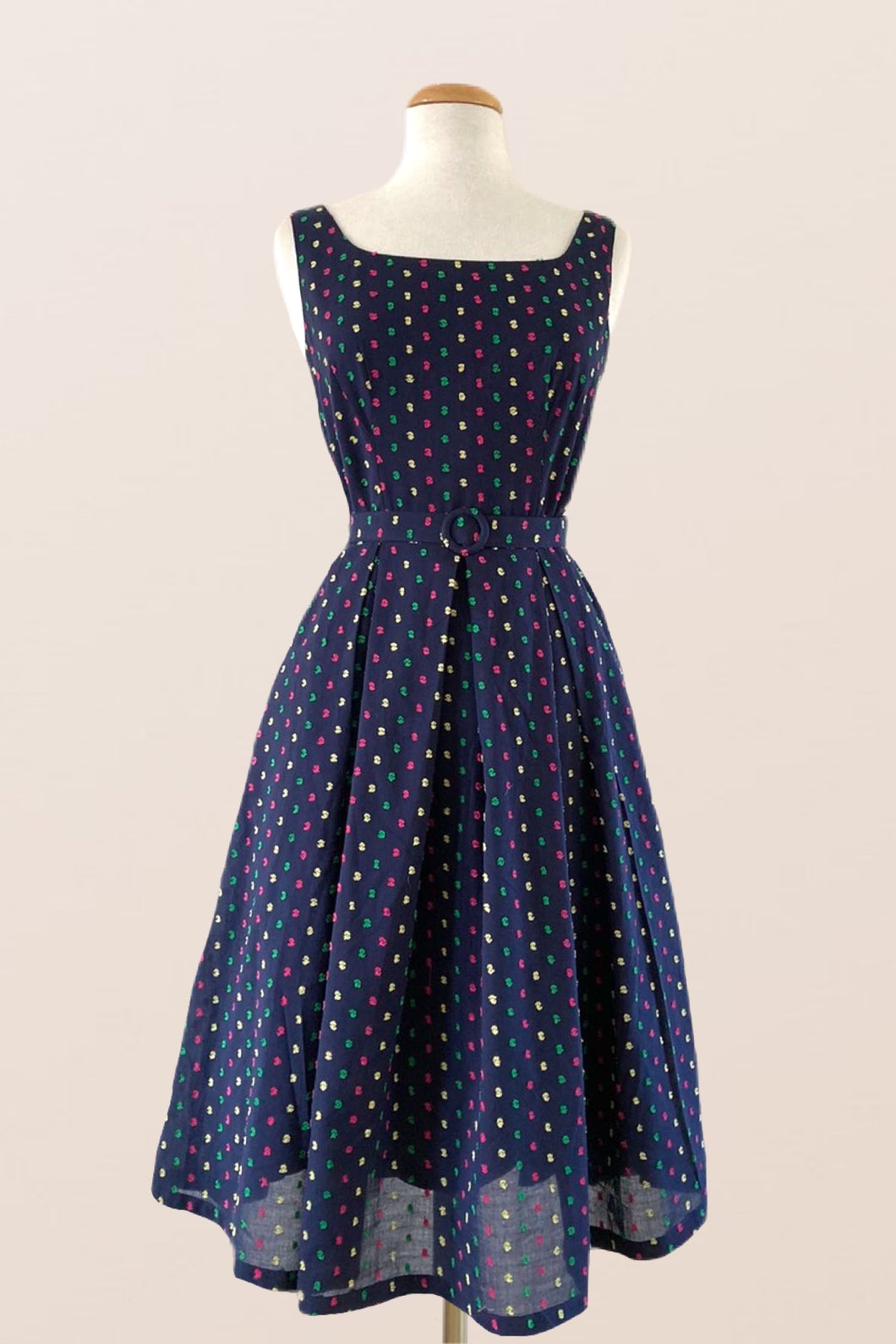 Abella Polka Dot Dress