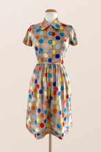 Load image into Gallery viewer, Spring Polka Shirt Dress