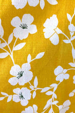 Load image into Gallery viewer, Bee Mustard & Cream Floral Dress