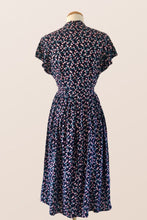 Load image into Gallery viewer, Sakura Navy & Pink Dress