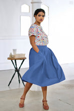 Load image into Gallery viewer, Roxy Cobalt Skirt