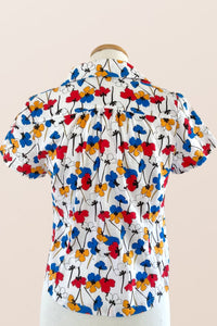 Poppies Multi-colour Blouse
