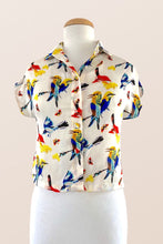 Load image into Gallery viewer, Minki Birds Blouse