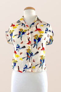 Minki Birds Blouse