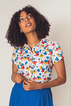 Load image into Gallery viewer, Poppies Multi-colour Blouse