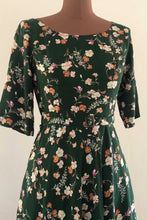 Load image into Gallery viewer, Anderson Green Floral Dress