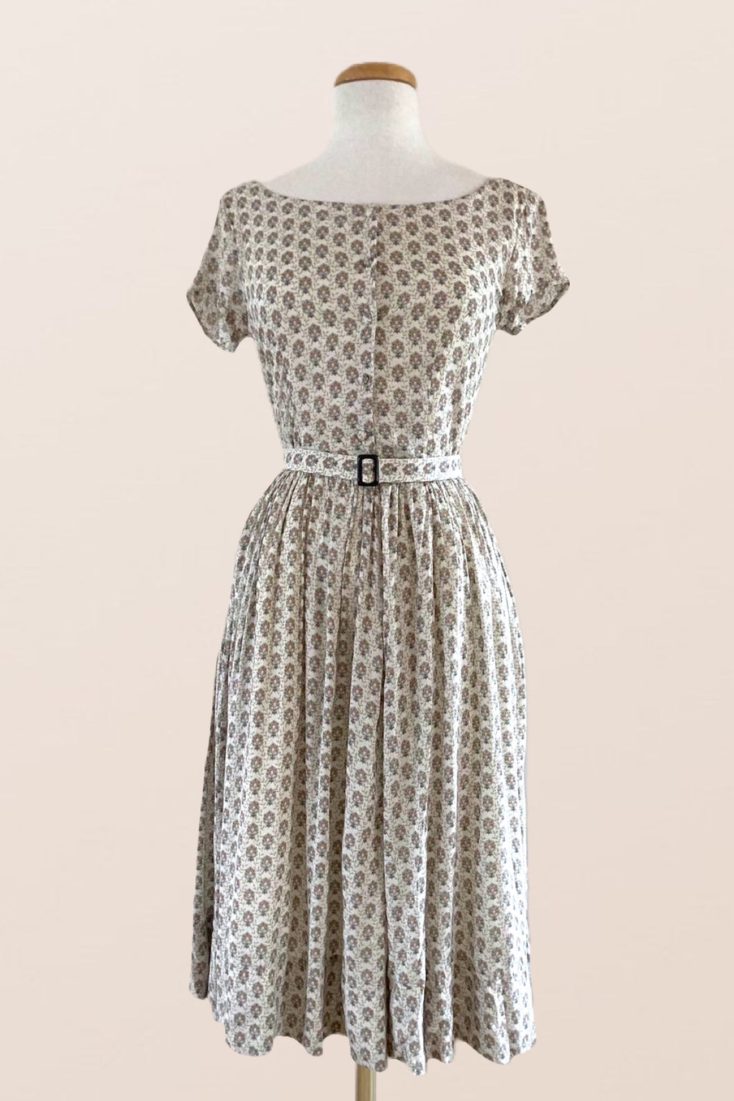 Doive Dress Cream Floral
