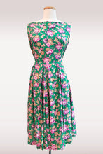 Load image into Gallery viewer, Jacki Floral Dress/ Green