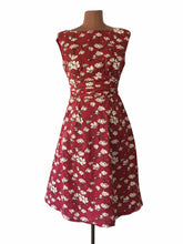 Load image into Gallery viewer, Magnolia Burgundy Dress