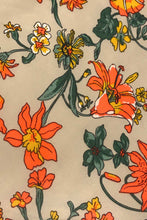 Load image into Gallery viewer, Majorie Mustard Floral Dress