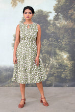Load image into Gallery viewer, Meadow Green Floral Dress