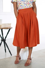 Load image into Gallery viewer, Roxy Burnt Orange Skirt