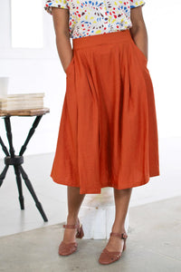 Roxy Burnt Orange Skirt