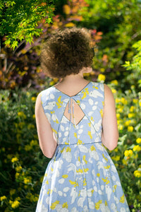 Nola Banana Grey Dress - Elise Design