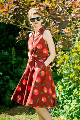 Wilma Tomatoes Skirt - Elise Design  - 1