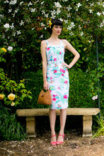 Load image into Gallery viewer, Jules Red & Cream Tikki Dress - Elise Design