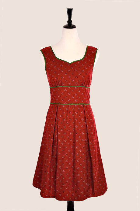 Chloe Tea Red Dress