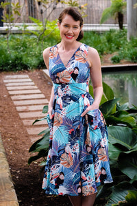Lorikeet Tropical Dress