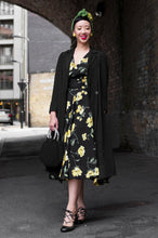 Load image into Gallery viewer, Viola Yellow Floral Dress