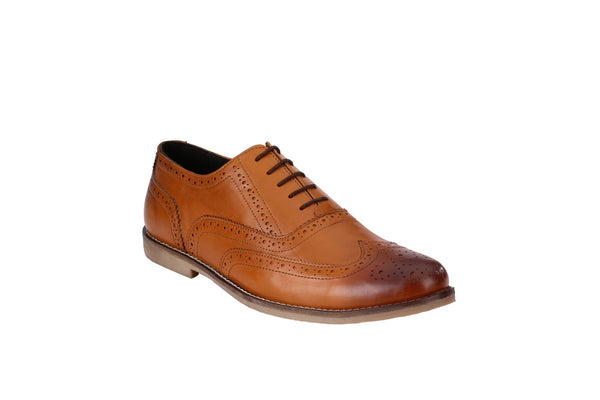 Men's Formal Oxford Wingtip Leather Brogues | Jacksin Shoes