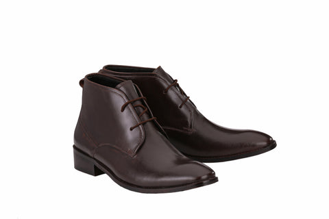 Men's Chukka Boots with Leather Sole | Jacksin Boots