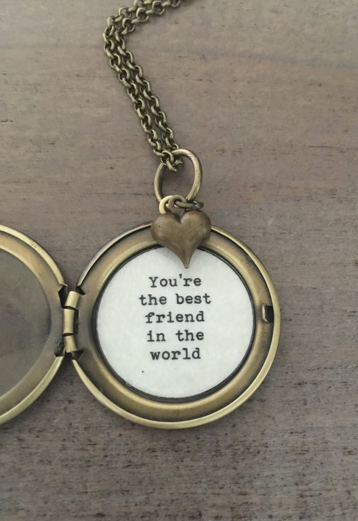Best Friend Locket, Map Locket, best friend necklace, globe jewelry
