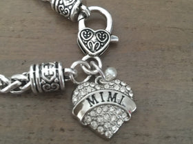Mimi Charm Bracelet, Mimi Jewelry , Grandmother, Mother's Day