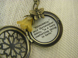 Friendship Locket Necklace Pooh Christopher Robin quote locket friendship is a very comforting thing to have best friend gift  thank you