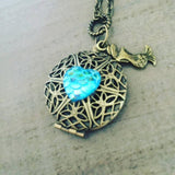 Mermaid Locket Necklace mermaid lover  limited availability
