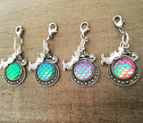 Mermaid Party Favors, backpack charms, zipper pulls