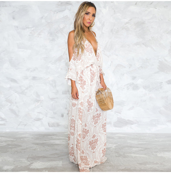 Boho Women Floral Summer Dress - Beach'n Designs