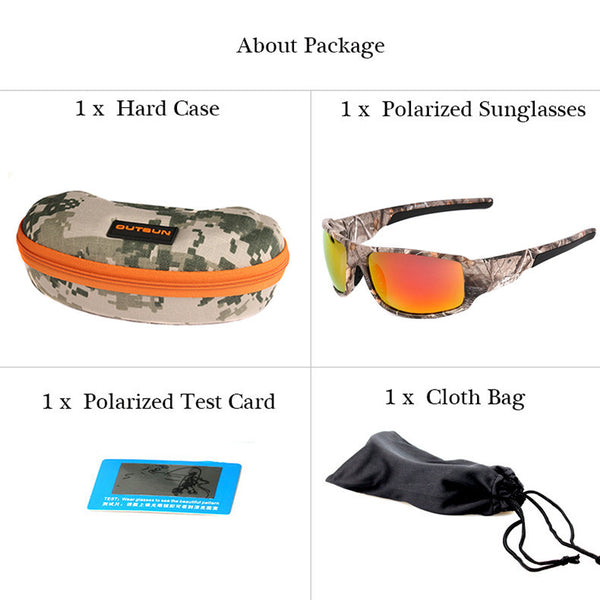 Camo Stylish Sunglasses - Beach'n Designs - 5