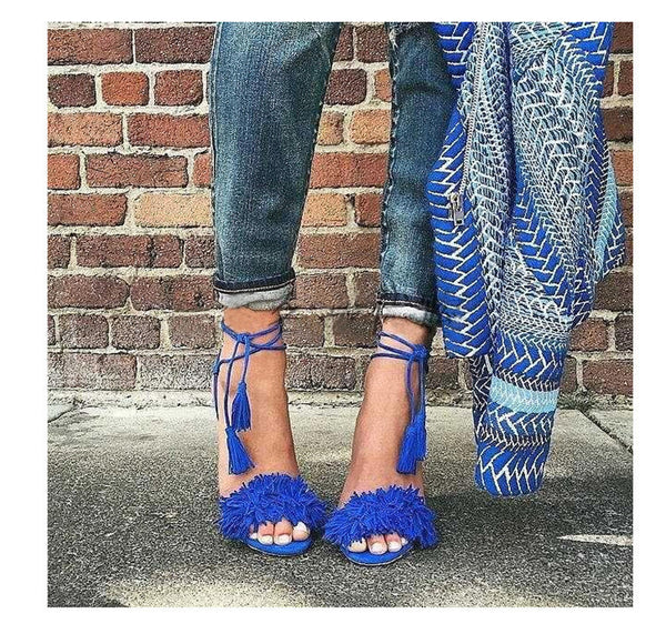 Tassel Heels - Beach'n Designs - 2