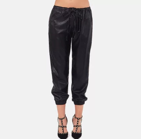 Liquid Faux Leather Pants - Beach'n Designs