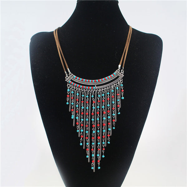Bohemian beaded necklace - Beach'n Designs - 2