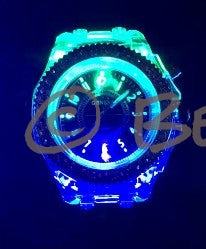 Rhinestone illuminating Night Light LED Watch - Beach'n Designs - 10