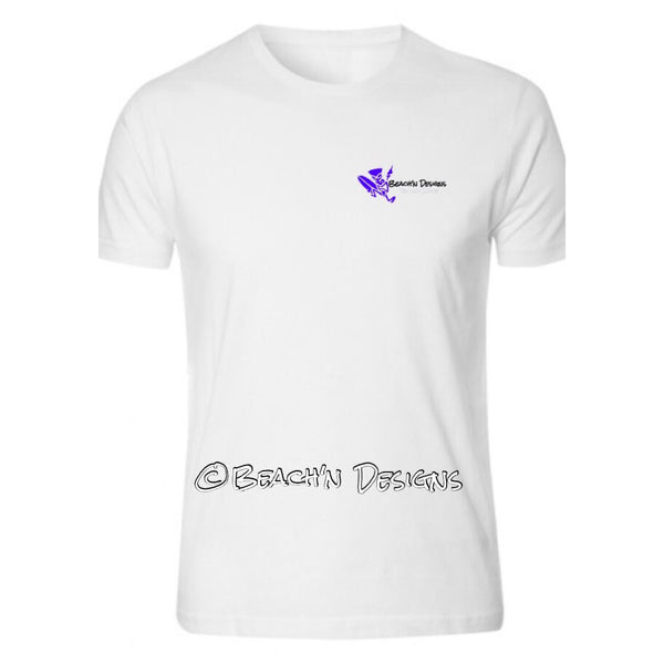 Beach'n Designs Logo Mahi Mahi shirt - Beach'n Designs - 2