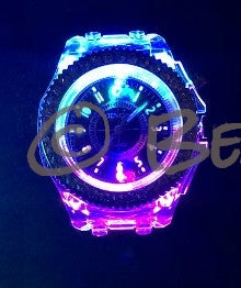 Rhinestone illuminating Night Light LED Watch - Beach'n Designs - 11
