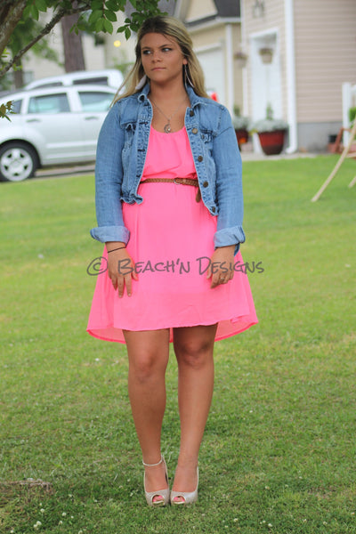 Neon Beach Dress - Beach'n Designs - 1