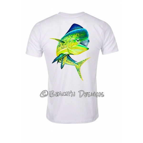Beach'n Designs Logo Mahi Mahi shirt - Beach'n Designs - 1